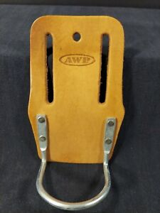 AWP Leather Steel Craddle Loop Hammer Holder