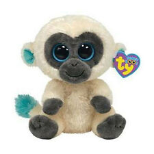 TY Beanie Boos - BANANAS the Monkey (Solid Eye Color) (6 inch) (UK Exclusive)