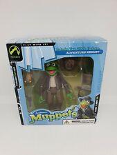 Palisades Toy Jim Henson The Muppet Show ADVENTURE KERMIT Figure RARE EXCLUSIVE