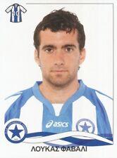 080 LUCAS FAVALLI ARGENTINA ATROMITOS.FC STICKER PANINI SUPERLEAGUE ΕΛΛΑΔΑ 2010