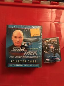 Star Trek: Next Generation Inaugural Edition Deep Space Nine Sealed Cards