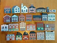 The Cat'S Meow Village mixed series lot 26pcs 80s-90s signed