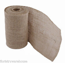Hessian Mesh Roll Natural 15cm/6 inches Wide x 5m/16.5ft Roll