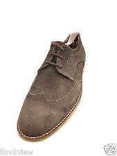 Massimo Dutti Men's  Oxford wing tip design stitch Brown Size Eur. 42 U.S. 8.5