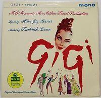 """GIGI No 2 SOUND TRACK EP 7"""" Vinyl Single 45rpm : MGM Movie OST Chevalier : VG+"""