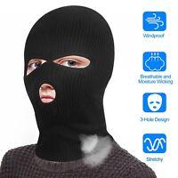 3 Hole Full Face Mask Ski Mask Winter Cap Balaclava Hood Army Tactical Mask