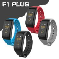 Fitness Smart Watch Activity Tracker Women Men Kid For Android iOS Heart Rate F1