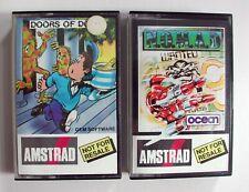 vintage amstrad game amstrad games amsoft game amsoft N.O.M.A.D & Doors Of Doom