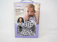 Boppy Teething Scarf, Circles and Squares, Black and White