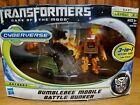 Transformers DOTM Cyberverse 3 in 1 Action Set Bumblebee Mobile Battle Bunker