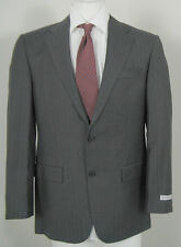 NEW $1495 Hickey Freeman 2 Button Suit! 38 Reg  Gray  Lindsey Model  Made in USA