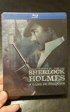 《BLU-RAY》 《STEELBOOK》 《SHERLOCK HOLMES GAME OF SHADOWS 》《LIMITED EDITION 》