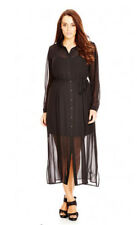 City Chic | Black Longline Lady T-Shirt Dress Plus Size XXL 24 NWT D2 $119