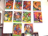 1995 FLEER ULTRA SPIDERMAN CLEARCHROME INSERT CARD SINGLES! VENOM! NOT SET!