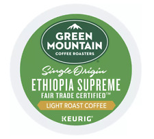 Green Mountain Ethiopia Supreme Keurig K-Cups 24 Count - FREE SHIPPING