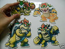 SUPER MARIO STICKER LOT BIG STICKERS ALL BOWSER ONLY