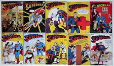 """(10) SUPERMAN COMICS 2"""" x 3"""" COVER MAGNETS - Superman #31-40"""