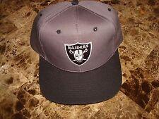 LOS ANGELES RAIDERS  SGA PROMO  90'S HAT CAP VINTAGE SNAPBACK