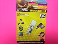 Multifunctional Xtreme Sd / Sdhc Memory Card Reader / Writer Usb Adapter Mac/ Pc