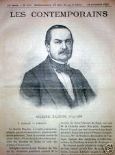 ADOLPHE BAUDON 1819-1888 Toulouse Saint-Vincent de Paul