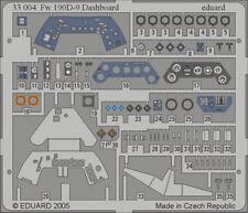 Eduard Zoom 33004 1/32 Hasegawa FOCKE-WULF FW 190D-9 CRUSCOTTO