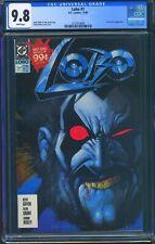 Lobo 1 (DC) CGC 9.8 White Pages 1st Lobo titled series, Origin of Lobo