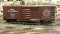 """Roundhouse MDC HO  40' Boxcar, Seaboard """"Silver Meteor"""", Upgraded, Exc."""