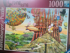 Ravensburger Colin Thompson - Flying Home 1000 Piece Jigsaw Puzzle -complete