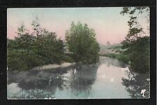 Brittain & Wright ~ Hutton Rudby View On The Leven 1906 Postcard ~ SPACE FILLER