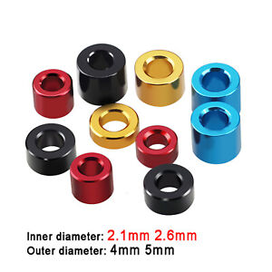 M2.1 M2.6 Aluminum Alloy Spacers Standoff Washer Bushes Collar Stand off Spacers
