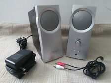 Bose Companion 2 Computer Multimedia Speakers System Black-Silver W/ Cords & AC