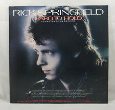 Rick Springfield: Hard to Hold - Soundtrack Recording [Vinyl Record LP]