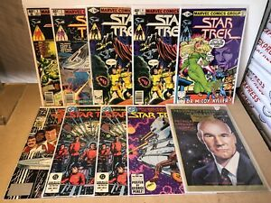 Star Trek 10 Issue Mixed Comic Book Lot
