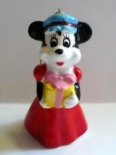 Vintage Walt Disney Minnie Mouse Ceramic Figurine Ornament Japan Vgc