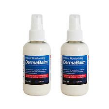 Dry Skin Moisturiser Cream Natural Eczema Psoriasis Itching Dermabalm 150ml X2