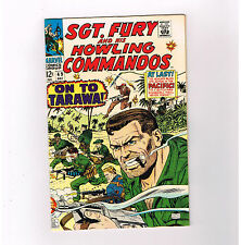 SGT FURY #49 Gorgeous grade 9.2 Silver Age find from Marvel Comics!