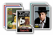 BOB DYLAN - 10 promotionnel affiches - de collection lot carte postale # 1