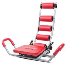 Ab Rocket Twister Banco de abdominales rojo Fitfiu fitness