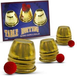 Brand New Magic Trick - Table Hopping Magic Cups & Balls