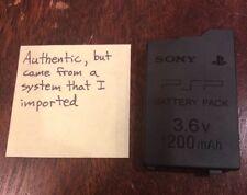 GUARANTEED Official OEM PSP-3000 PSP-2000 Original Battery PSP-S110 1200mah