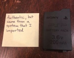 GUARANTEED Official OEM PSP-3000 PSP-2000 Original Battery PSP-S110 1200mah