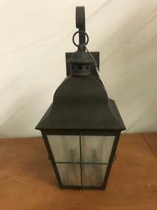 Sea Gull Lighting 8463-46 Chatham 2-Light Outdoor Wall Lantern Oxidized Bronze
