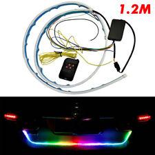 LED Trunk Tailgate Strip Light Turn Signal 1200mm RGB Brake Drive Light TLS J