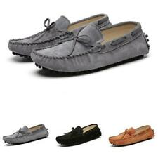 Mens Faux Suede Leather Loafers Shoes Driving Moccasins Pumps Slip on Casual L
