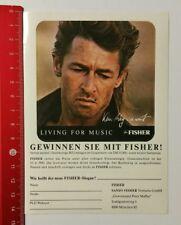 ADESIVI/Sticker: Fisher Living for Music-Peter Maffay (07041718)