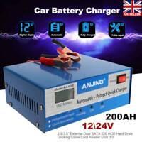 caricabatteria auto moto portatile 200AH avviatore batteria 12V 24V avviatori