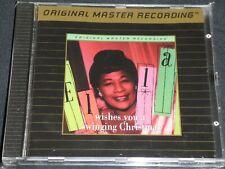 ELLA FITZGERALD - Ella Wishes You A Swinging Christmas - MFSL. Gold CD.