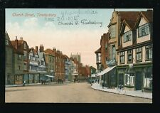 Gloucestershire TEWKESBURY Church St 1915 PPC by Valentine