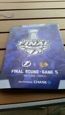 TAMPA BAY LIGHTNING VS CHICAGO BLACKHAWKS STANELY CUP PROGRAM GAME 5