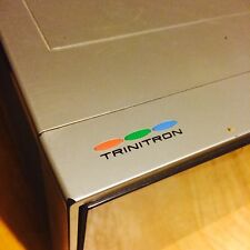 Trinitron color Portable TV 1980 vintage Sony KV-8100  IT WORKS GREAT!